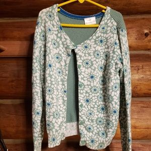 """Hanna Andersson"" girls cardigan"